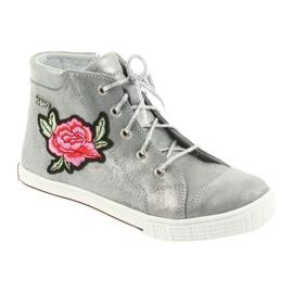Shoes shoe girls silver Ren But 4279 1