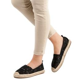 Sweet Shoes Lace Espadrilles black 2