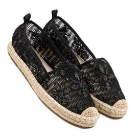 Sweet Shoes Lace Espadrilles black 3