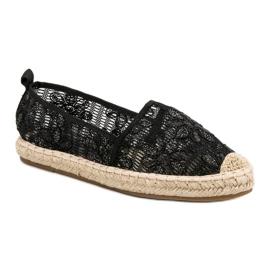 Sweet Shoes Lace Espadrilles black 4