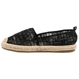 Sweet Shoes Lace Espadrilles black 5