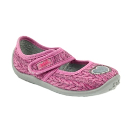 Befado children's shoes 945X325 pink 2