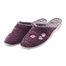 Befado colorful women's shoes pu 235D152 violet 4