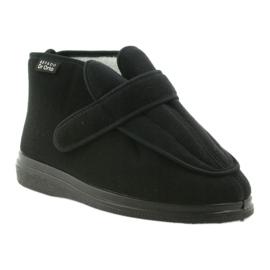Befado men's shoes pu orto 987M002 black 2