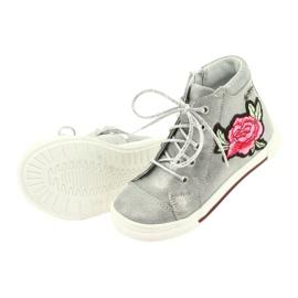 Shoes shoe girls silver Ren But 3237 grey 5