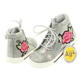Shoes shoe girls silver Ren But 3237 grey 4