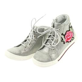 Shoes shoe girls silver Ren But 3237 grey 3