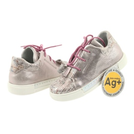 Ren But Rhine leather shoes 3303 pearl pink 4