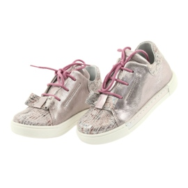 Ren But Rhine leather shoes 3303 pearl pink 3
