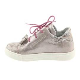Ren But Rhine leather shoes 3303 pearl pink 2