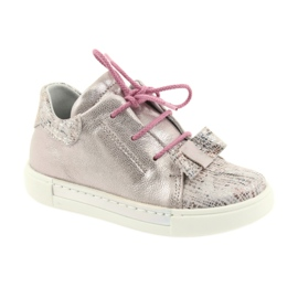 Ren But Rhine leather shoes 3303 pearl pink 1