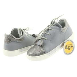 Ren But Ren shoes 3303 gray leather shoes grey 4