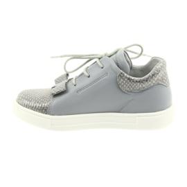 Ren But Ren shoes 3303 gray leather shoes grey 2