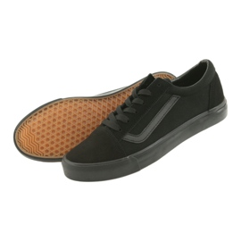 Atletico AlaVans black tied sneakers 4