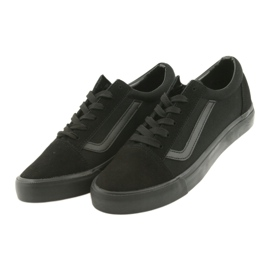Atletico AlaVans black tied sneakers 3