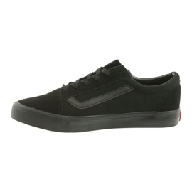 Atletico AlaVans black tied sneakers 2