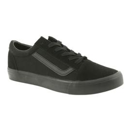 Atletico AlaVans black tied sneakers 1