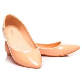 Vices Pastel ballerinas orange 4
