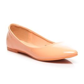 Vices Pastel ballerinas orange 2