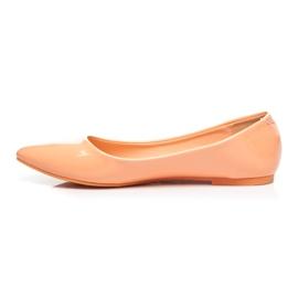 Vices Pastel ballerinas orange 3