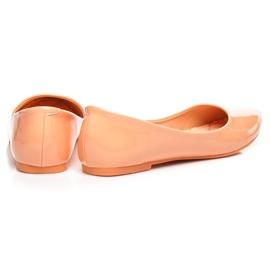 Vices Pastel ballerinas orange 5