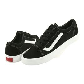 Atletico AlaVans black tied sneakers white 5