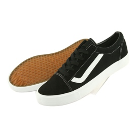 Atletico AlaVans black tied sneakers white 4