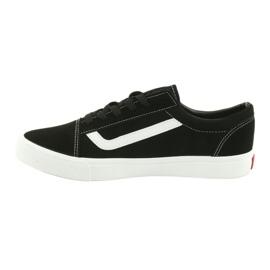 Atletico AlaVans black tied sneakers white 2