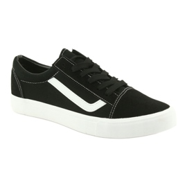 Atletico AlaVans black tied sneakers white 1