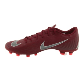Nike Mercurial Vapor 12 Academy FG M AH7375-606 Football Boots burgundy red 2