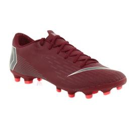 Nike Mercurial Vapor 12 Academy FG M AH7375-606 Football Boots burgundy red 1