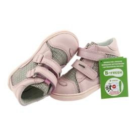 Shoes Velcro Bartek 11703 grey pink 6