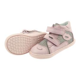 Shoes Velcro Bartek 11703 grey pink 4