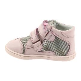 Shoes Velcro Bartek 11703 grey pink 2
