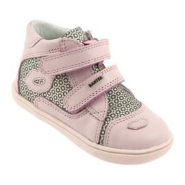 Shoes Velcro Bartek 11703 grey pink 1