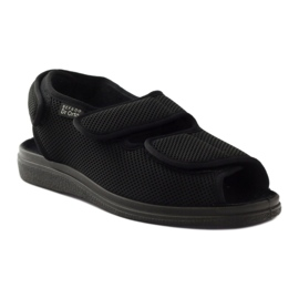 Befado men's shoes pu 733M007 black 2