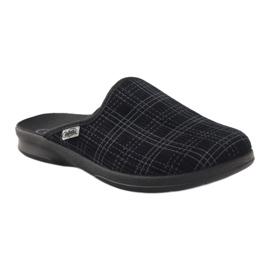 Befado men's shoes pu 548M003 black 2