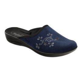 Befado women's shoes pu 552D005 navy blue 2
