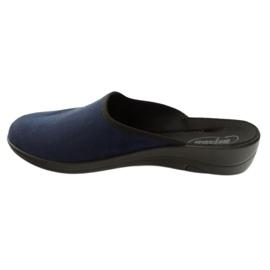 Befado women's shoes pu 552D005 navy blue 3