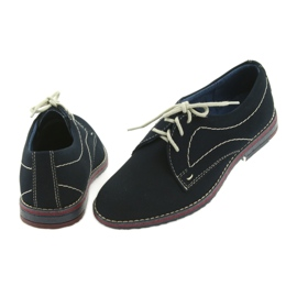 Boys' shoes Gregors 141 navy blue 4