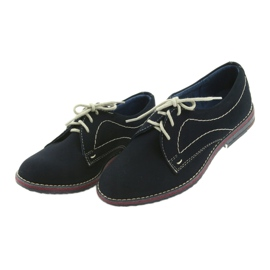 Boys' shoes Gregors 141 navy blue 3