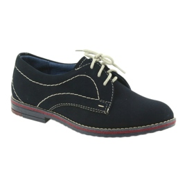 Boys' shoes Gregors 141 navy blue 1