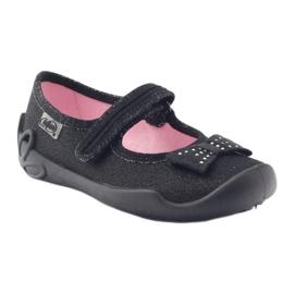 Befado children's shoes 114X240 black silver 2
