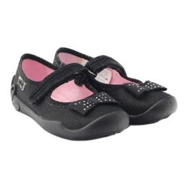 Befado children's shoes 114X240 black silver 5