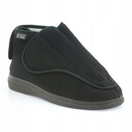 Befado women's shoes pu orto 163D002 black 2