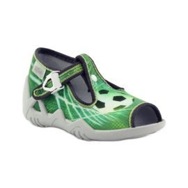 Befado children's shoes 217P093 green 2