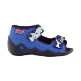 Befado children's shoes 250P069 blue 1
