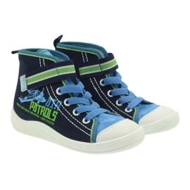 Befado children's shoes 268X066 navy 4