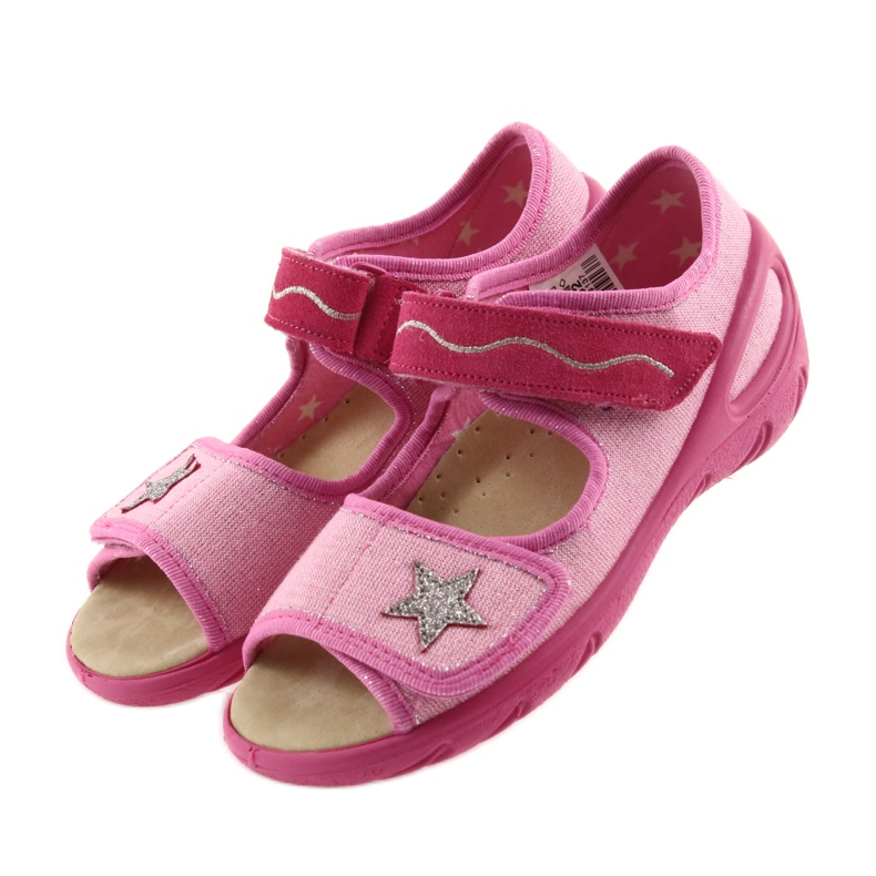 Pink Befado children's shoes pu 433X032 picture 4