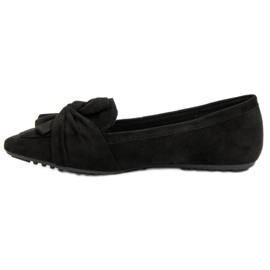 Black Suede Ballerinas 2